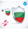 I Love Bulgaria Flag vector image vector image