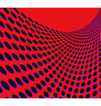 Red rounds background vector image vector image