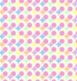 retro pastel background vector image vector image