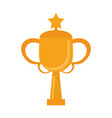 sport trophy cup championship vector image vector image