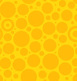 Yellow Circle Pattern vector image