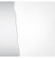 torn sheet vector image