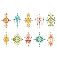 Tribal elements vector image