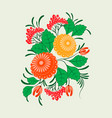 ornament in the slavic folk style vector image vector image