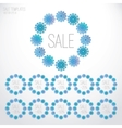 Set of Christmas sale templates vector image vector image