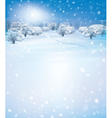 winter houses day vector image vector image