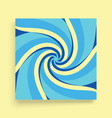 Abstract swirl background cover design template