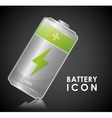 Battery design energy and power concept editable vector image vector image