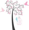 Birdcage Tree vector image vector image