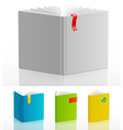 bookstand set vector image