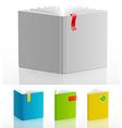 Bookstand set vector image