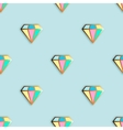 Fashion pins seamless pattern vector image