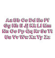 letters in style lol doll surprise vector image vector image