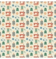 Needlework seamless pattern vector image vector image