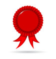 Award Ribbon vector image