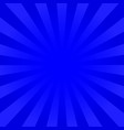 bright indigo rays background vector image vector image