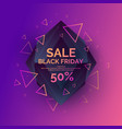original sale poster for black friday sale vector image