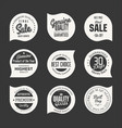 stickers collection 4 vector image vector image