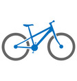 bicycle icon simple flat vector image vector image