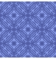 Blue Endless Texture Oriental Geometric Ornament vector image vector image