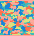 Camouflage seamless pattern in a blue green pink