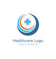 health care logo healthy logo medical pharmacy vector image