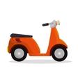 motorcycle delivery service icon vector image