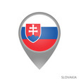 slovakia point vector image vector image