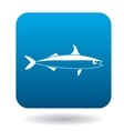 Smelt fish icon simple style vector image vector image