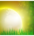 Summer background design for print or web vector image vector image