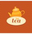 tea10 vector image vector image