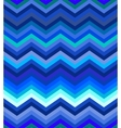 Dark turquoise and blue gradient chevron seamless vector image vector image