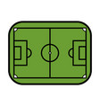 field soccer or football related icon image vector image vector image
