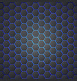 honeycombs abstract 3d hexagonal seamless backdrop vector image