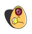 Monster egg vector image