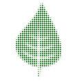 plant leaf halftone icon vector image