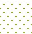 poplar leaf pattern seamless vector image vector image