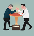 armWrestling preview vector image