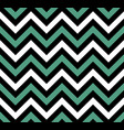 black and blue chevron retro decorative pattern vector image