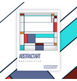 brochure cover template modern design for vector image vector image