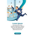 business time management and productivity vector image vector image
