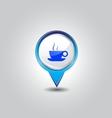 coffee pins vector image