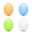 Colored Eggs vector image vector image