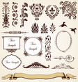 Decorative Ornaments Vintage Design vector image