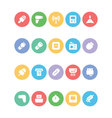 Electronics Colored Icons 11 vector image vector image