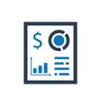 Fiinancial report icon