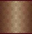 golden abstract pattern vector image