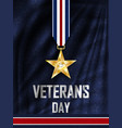 grunge rubber stamp with text veterans day vector image vector image