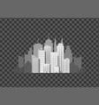 modern city template vector image