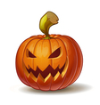 Pumpkins Scary 4 vector image vector image